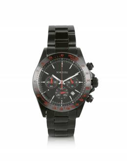 Murdock - Черные Часы Хронограф Forzieri SH9593BKS01