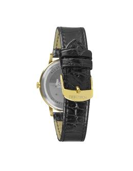 Donatello - Тонкие Часы на Кожаном Ремешке Forzieri SX9693SLL