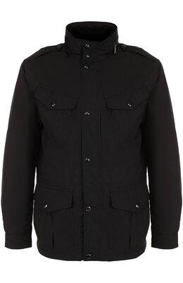 Пуховая куртка на молнии с воротником-стойкой Polo Ralph Lauren 710671583