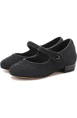 Парчовые туфли с ремешком Dolce&Gabbana 0132/D10559/AS078/19-28