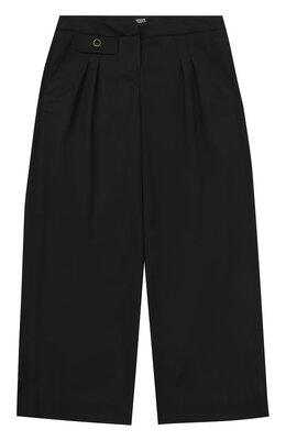 Шерстяные брюки прямого кроя Armani Junior 6Y3P31/3N1HZ/4A-10A