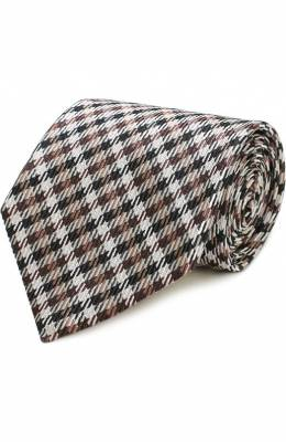 Шелковый галстук с узором Tom Ford 9TF311TF