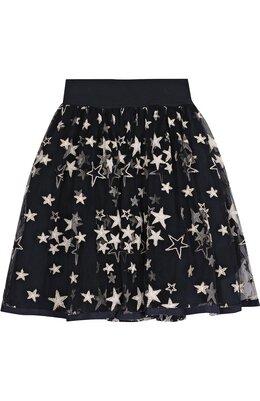 Многослойная юбка с принтом в виде звезд Monnalisa 710708