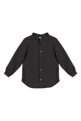 Серая рубашка из шерсти Lu Kids 197961554