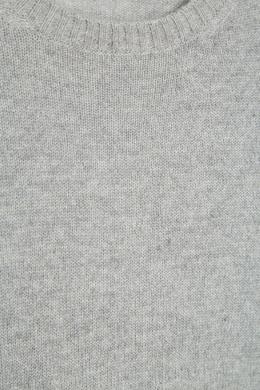Серый джемпер из кашемира Prada 4062001
