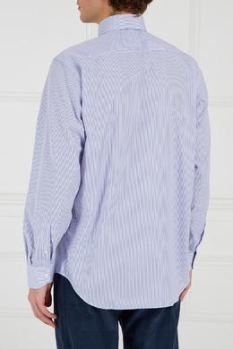 Хлопковая сорочка в полоску Canali 179366627