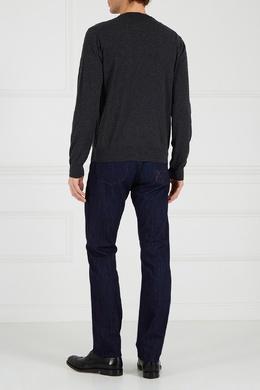 Темно-синие джинсы Canali 179366665