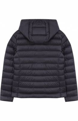 Пуховая куртка с капюшоном Moncler Enfant D1-954-46810-99-53048/8-10A