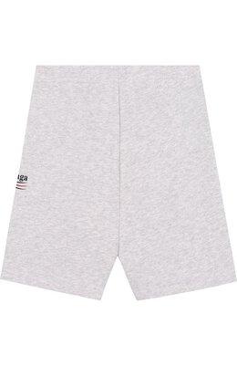 Хлопковые шорты с логотипом бренда Balenciaga 509655/TYK92