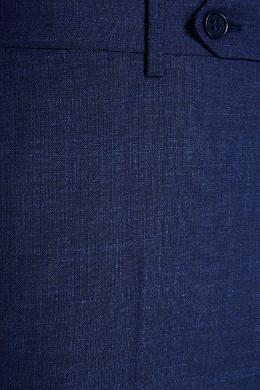 Синие шерстяные брюки Canali 179369525