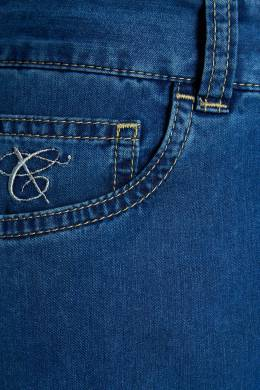 Синие джинсы Canali 179369530