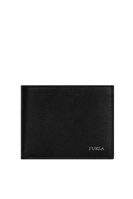 Кожаный кошелек черного цвета Marte Furla 196291673