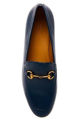 Кожаные лоферы Jordaan Gucci 47092502