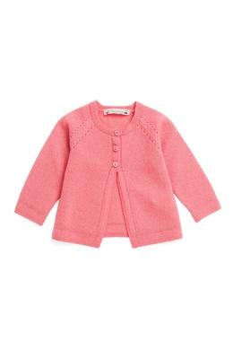 Розовый кашемировый кардиган Bonpoint 121090598