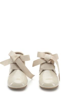 Лакированные бежевые ботинки Jane PL Age Of Innocence 139696123