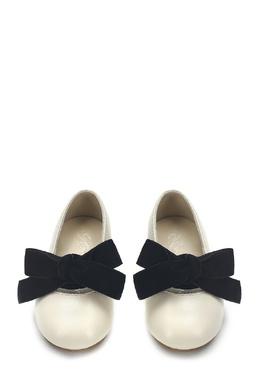 Кожаные туфли с бантом Vicky Age Of Innocence 139696154