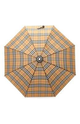 Складной зонт в клетку Vintage Check Burberry 4075286