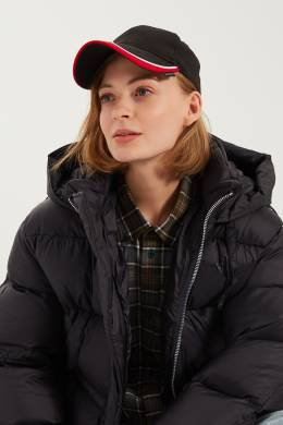 Черная кепка с контрастными полосами Balenciaga 39798396