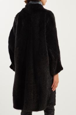 Черная норковая шуба Izeta 2576100299