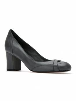Sarah Chofakian panelled leather pumps SWANGR55FORR