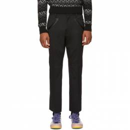 Dsquared2 Black Houndstooth Trousers S71KB0099 S42916