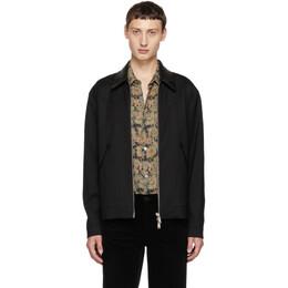 Dsquared2 Black Zip-Up Jacket S71AM0993 S42916