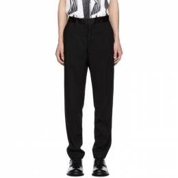 Ann Demeulemeester Black Wool Trousers 1808-3400-164-098