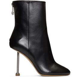 Maison Margiela Black Nail Boots S58WU0228 PR818