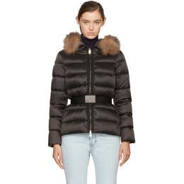 Moncler Black Down Tatie Jacket 172111F06102402GB