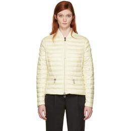 Moncler Off-White Down Blen Jacket 181111F06101003GB