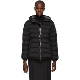Moncler Black Down Goeland Jacket 182111F06101302GB
