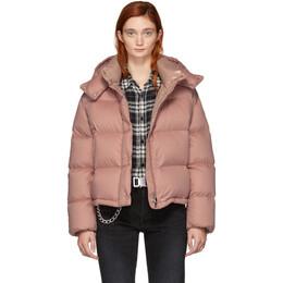 Moncler Pink Down Paeonia Jacket 182111F06100804GB