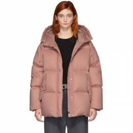 Moncler Pink Down Nerium Jacket 182111F06102405GB