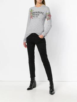 Dsquared2 floral logo printed top S72GD0108S22146