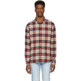 Frame Multicolor Plaid No Pocket Shirt 191455M19200304GB