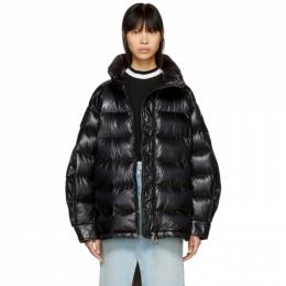 Moncler Black Down Ottawa Jacket 191111F06101803GB