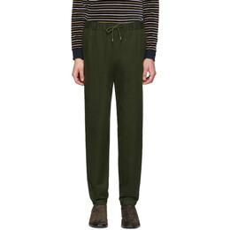A.P.C. Khaki Kaplan Trousers 191252M19100206GB