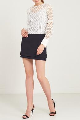 Короткая шелковая юбка Diane Von Furstenberg 11082699