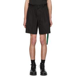 Dsquared2 Black Dan Elastic Boxer Shorts S74MU0533 S47858