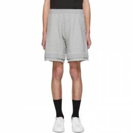Dsquared2 Grey Over Fit Shorts S74MU0528 S25401