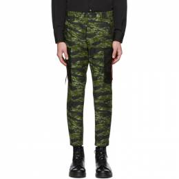 Dsquared2 Green Camo Cargo Pants S74KB0246 S49604