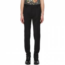 Dsquared2 Black Wool Admiral Trousers S74KB0254 S36258