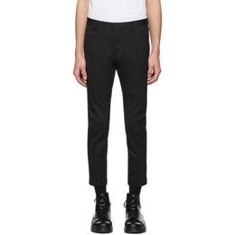 Dsquared2 Black Chic Wool Skinny Dan Fit Trousers S74KB0210 S49597