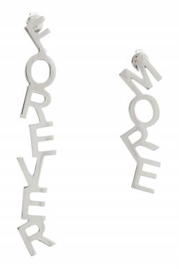 "Серебристые серьги ""Forevermore"" Insight 2800106259"