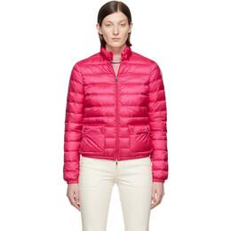 Moncler Pink Down Lans Jacket 191111F06100503GB