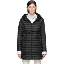 Moncler Black Down Barbel Jacket 191111F06100204GB