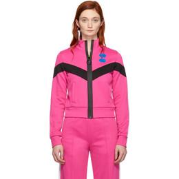 Off-White Pink Gym Track Jacket OWBA045R19C950572800