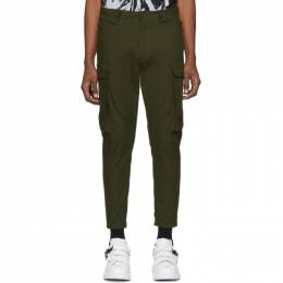 Dsquared2 Green Ripstop Sexy Cargo Pants S74KB0257 S49575