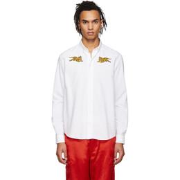 Kenzo White Jumping Tiger Shirt 191387M19201502GB