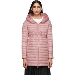 Moncler Pink Down Barbel Jacket 191111F06100104GB